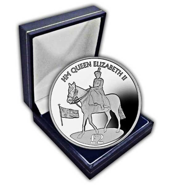 The 2016 90th Birthday Trooping the Colour Portrait Cupro Nickel Coin