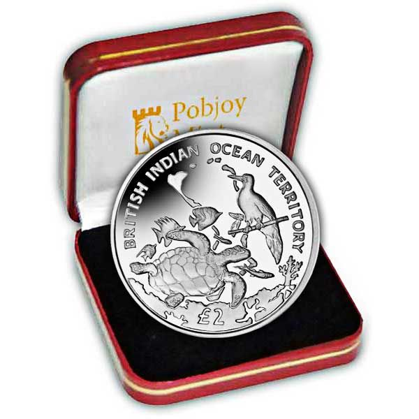 The 2016 Archipelago and Wildlife Proof Sterling Silver Coin