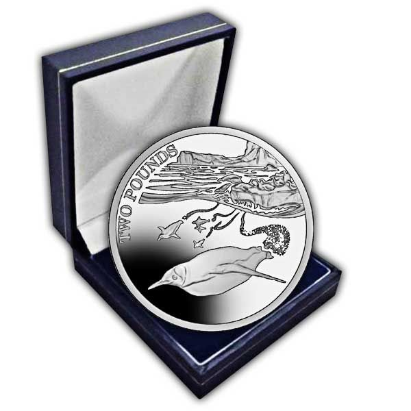 The 2016 Emperor Penguin Cupro Nickel Coin