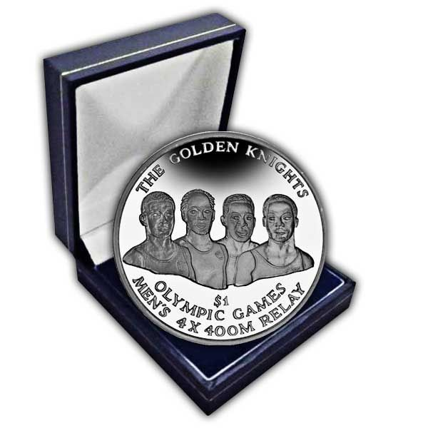 The 2016 Golden Knights Olympic Winners Cupro Nickel Coin