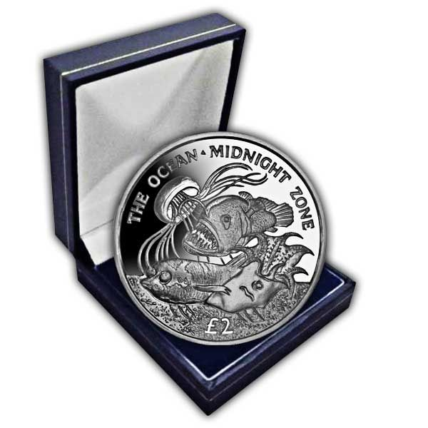 The 2016 Midnight Zone Cupro Nickel Coin