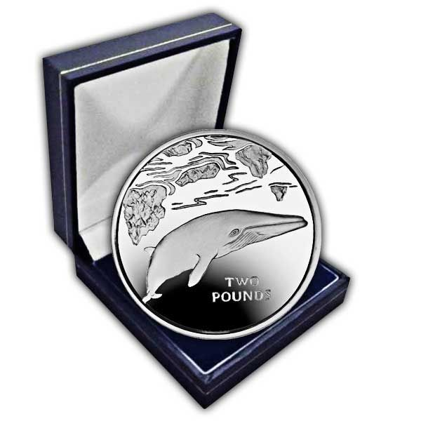 The 2016 Minke Whale Cupro Nickel Coin
