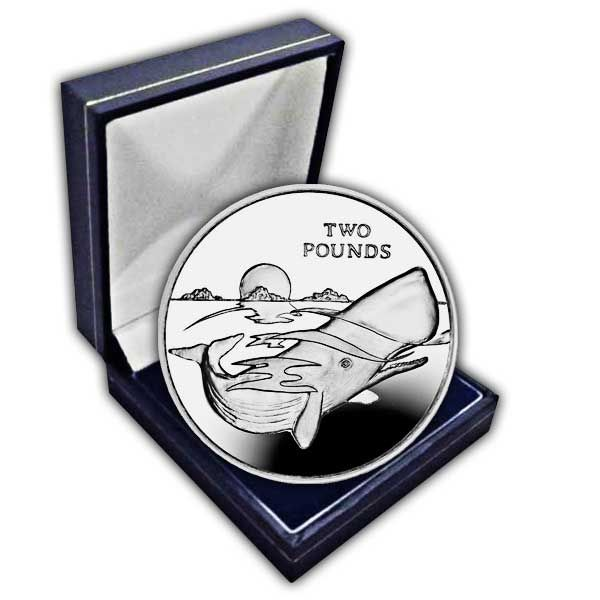 The 2016 Sperm Whale Cupro Nickel Coin