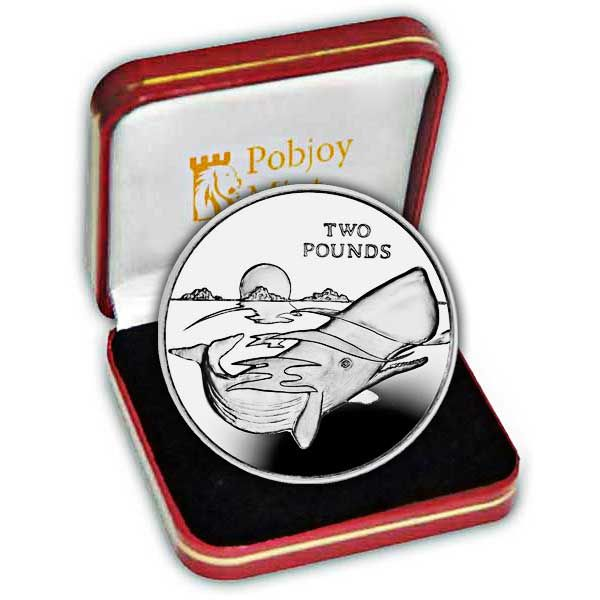 The 2016 Sperm Whale Silver Coin