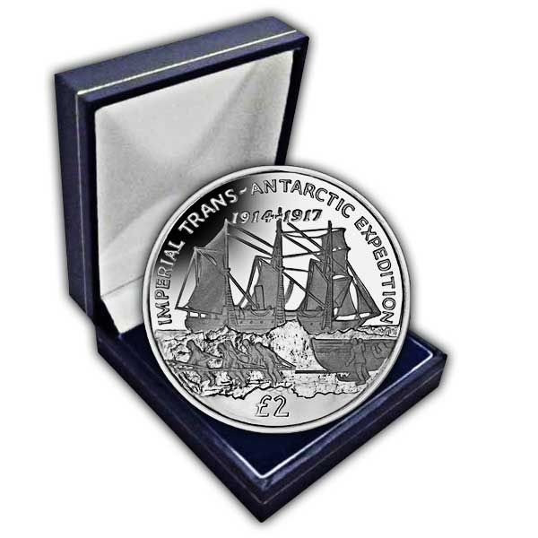 The 2017 Imperial Trans-Antarctic Expedition - Endurance Cupro Nickel Coin