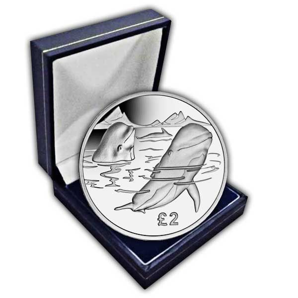 The 2017 Pilot Whale Cupro Nickel Coin
