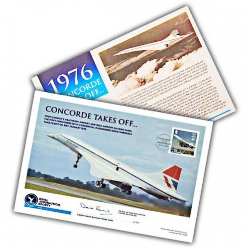 Royal Aeronautical Society Concorde Special Signed Cover