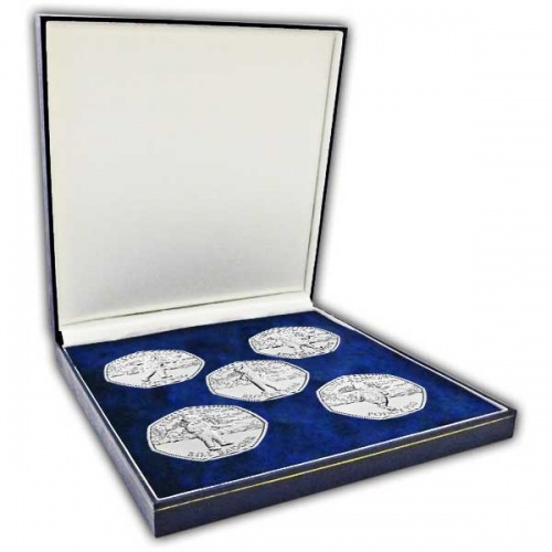 The 100th Anniversary of Rupert Bear 50p Coin Set