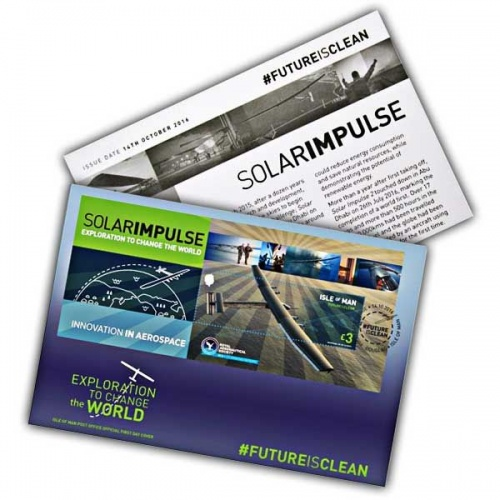 Solar Impulse First Day Cover