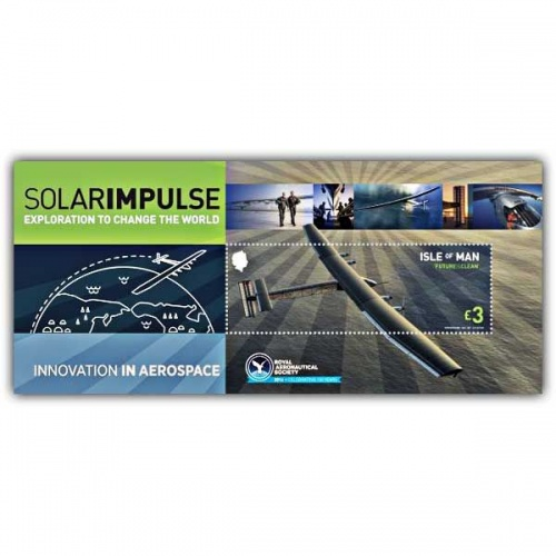 Solar Impulse Miniature Sheet (Mint)
