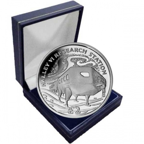 The 2013 Halley VI Research Station Cupro Nickel Coin