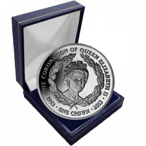 The 2013 Lifetime of Service Cupro Nickel Coin