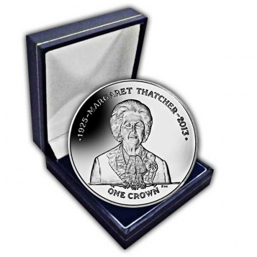 The 2013 Prime Minister Baroness Margaret Thatcher 1925 - 2013 Cupro Nickel Coin