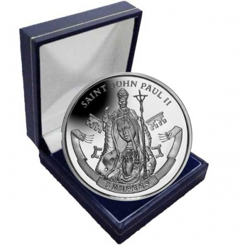The 2014 Canonisation of His Holiness Pope John Paul II Cupro Nickel Coin