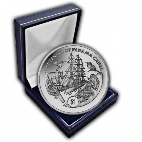 The 2014 Centenary of the Panama Canal Cupro Nickel Coin