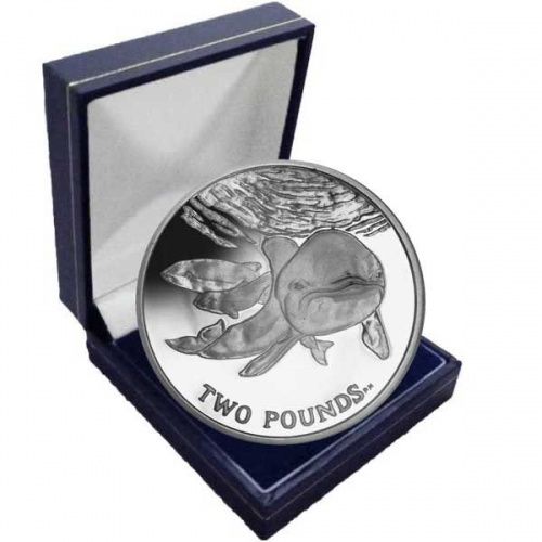 The 2014 Spectacled Porpoise Cupro Nickel Coin