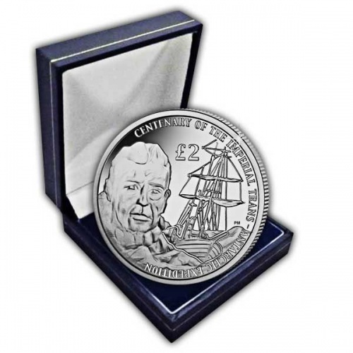 The 2015 Centenary of the Imperial Trans-Antarctic Expedition Cupro Nickel Coin