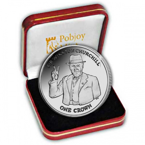 The 2015 Sir Winston Churchill Silver Coin
