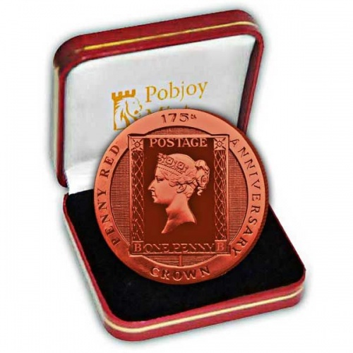 The 2016 175th Anniversary of the Penny Red Stamp Silver Coin