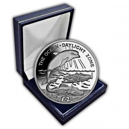 The 2016 Daylight Zone Cupro Nickel Coin