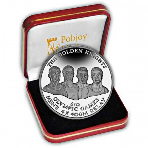 The 2016 Golden Knights Olympic Winners Silver Coin