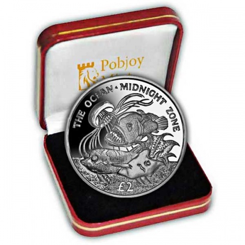 The 2016 Midnight Zone Silver Coin
