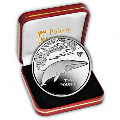 The 2016 Minke Whale Silver Coin