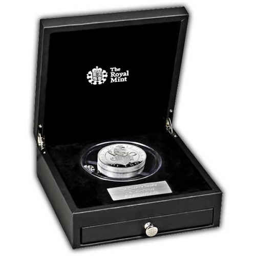 The Lion of England 2017 UK Ten-Ounce Silver Proof Coin