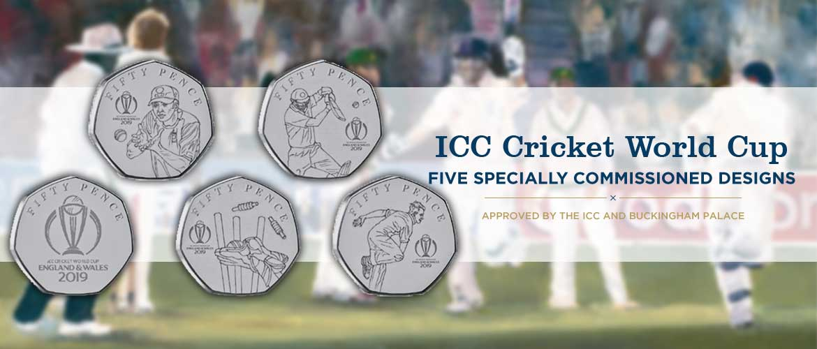 ICC Cricket World Cup 2019 | Island Stamps and Coins